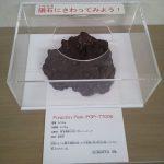 南極で見付かった隕石